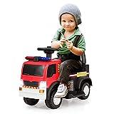 COSTWAY Kinder Feuerwehrauto, Elektroauto, Kinderauto,...