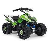 INJUSA - Kawasaki Quad ATV 12V mit Rückwärtsgang und...
