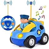 GotechoD Ferngesteuertes Polizeiauto Auto mit Fernbedienung,...