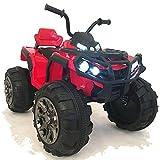 crooza 12V Kinder Quad / ATV mit 2X Motoren Kinderauto...