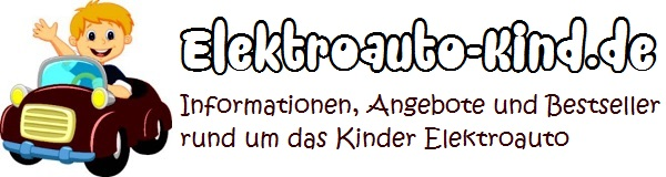 Logo - Elektroauto Kind - Kinderauto - Kinder Elektroauto