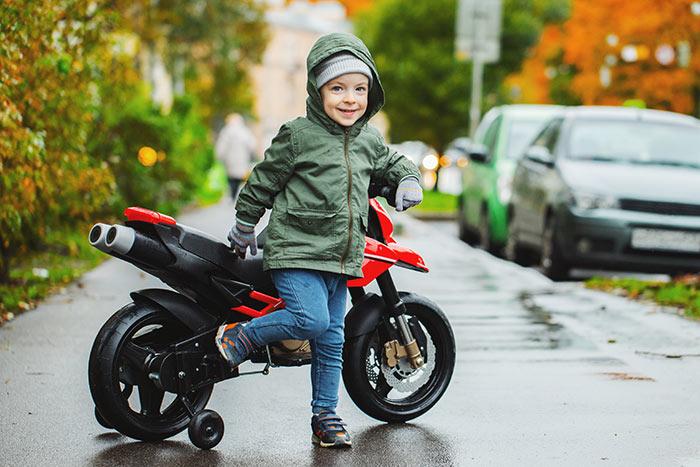 Kindermotorrad Elektrisch für Jungen