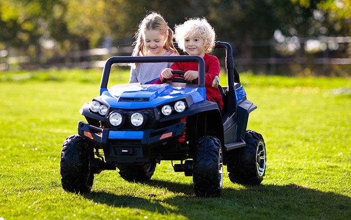 Elektroauto für 2 Kinder