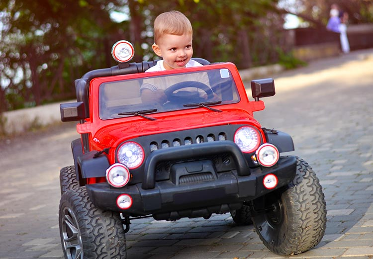 Jeep Kinderauto